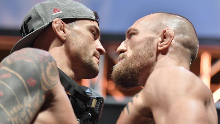 Poirier y McGregor.