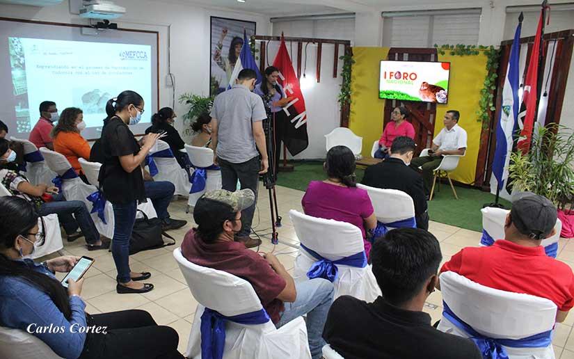 Mefcca realiza foro nacional de emprendedores y pequeños negocios